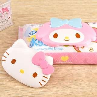 🚚 日本三麗鷗系列濕紙巾蓋