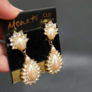 Monet Earrings Clip