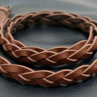 Brown Leather Belt #gocengaja