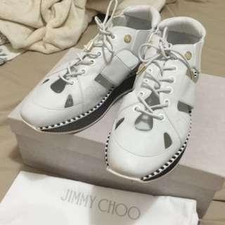 《超級無敵降價出清》要買要快‼️Jimmy Choo Morton Cutout 38 鞋子 高跟 穿過一次