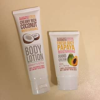 Body Lotion & Hand Cream