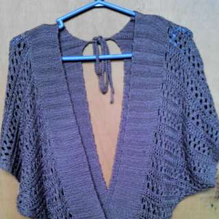 pre loved top knitted