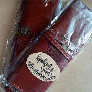 Vintage Style Pencil Bag