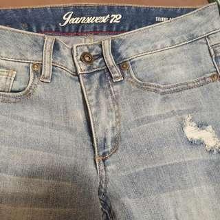 Skinny Capri Jeans -Jeanswest