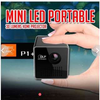 UNIC P1+ Mini LED Wireless Projector/ Projector