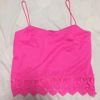 TEMT Pink Top