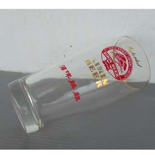 Rare Retro Beer Advertisement, For Collector, Kirin Beer, Japan, Display Glass Cup, Limited edition