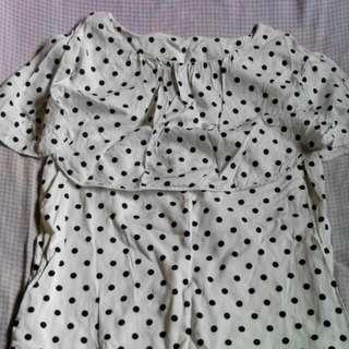 pre loved polka dots dress