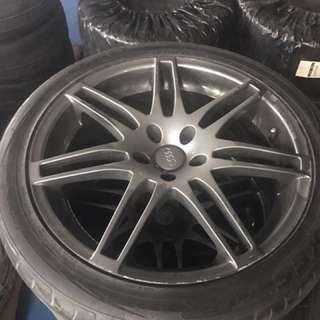 Audi S4 Replica Rims