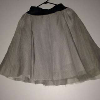 size S grey skirt