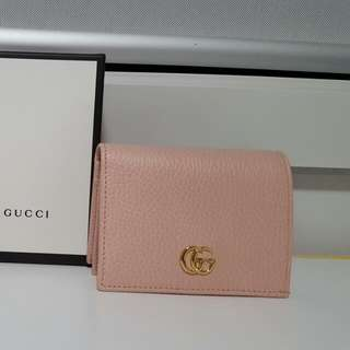 QUICK SALE Authentic Gucci Leather Card Case/ Compact Wallet