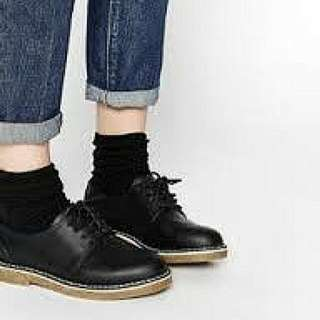 Inspired Doc Martens Low Cut Black