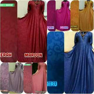 Gamis Jumbo jerrys embos polos