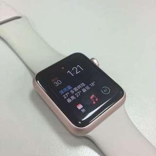 【降價🈹️】Apple Watch玫瑰金 42mm
