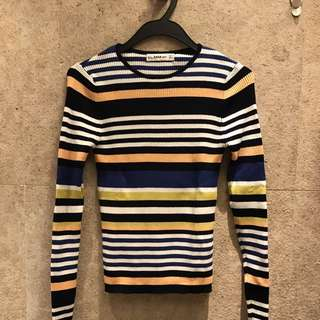 Zara Stripe Sweater