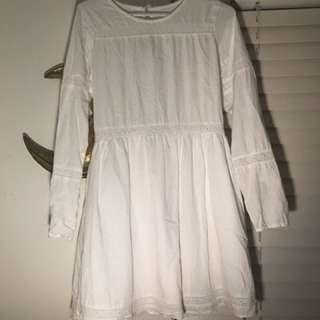 Rhythm White Dress