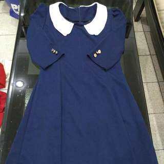 Sailor Navy Dress