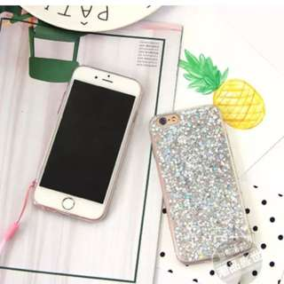 Silver Bling iPhone 6/6s Casing