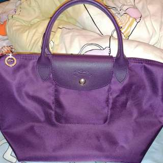 Longchamp Neo In Purple Small Size