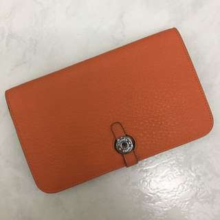 [Preloved] Inspired Designer Wallet (orange)
