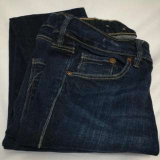 H&M blue jeans size 26 skinny