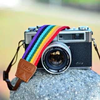 iMo Camera Strap Rainbow