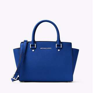 Michael Kors- Selma Bag- Electric Blue