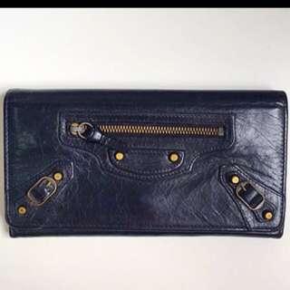 Balenciaga [BALENCIAGA] THE MONEY CLASSIC purse wallet 2 fold wallet Womens mens