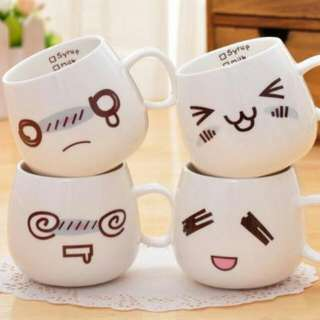 Cute Mug With Lid And Spoon