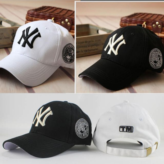 eaffe0ea3f8 5pcs lot Fashion Spring Baseball Cap Ny Embroidery For Men Women Sun ...