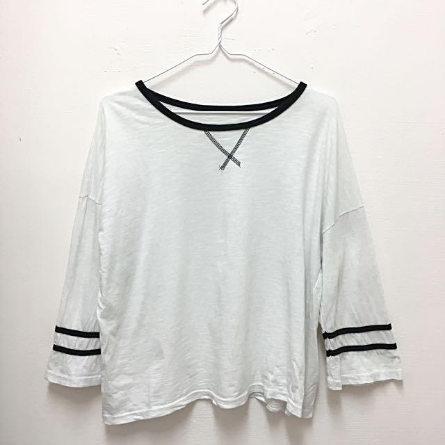 簡約白色上衣