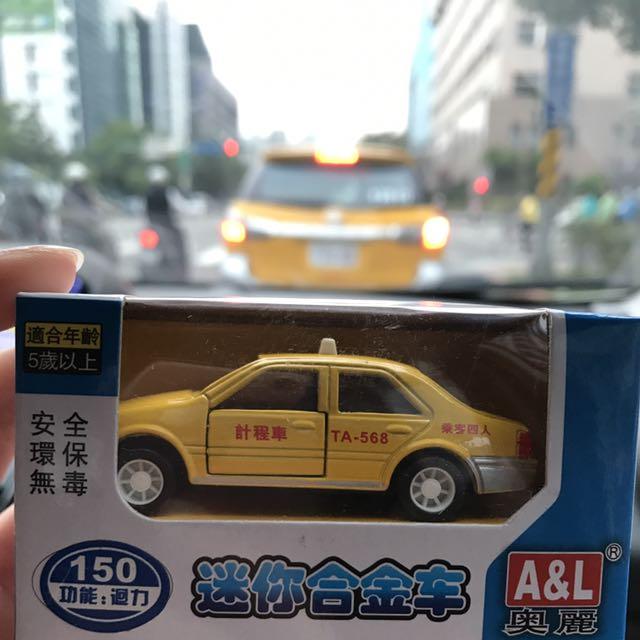 合金迴力車-計程車