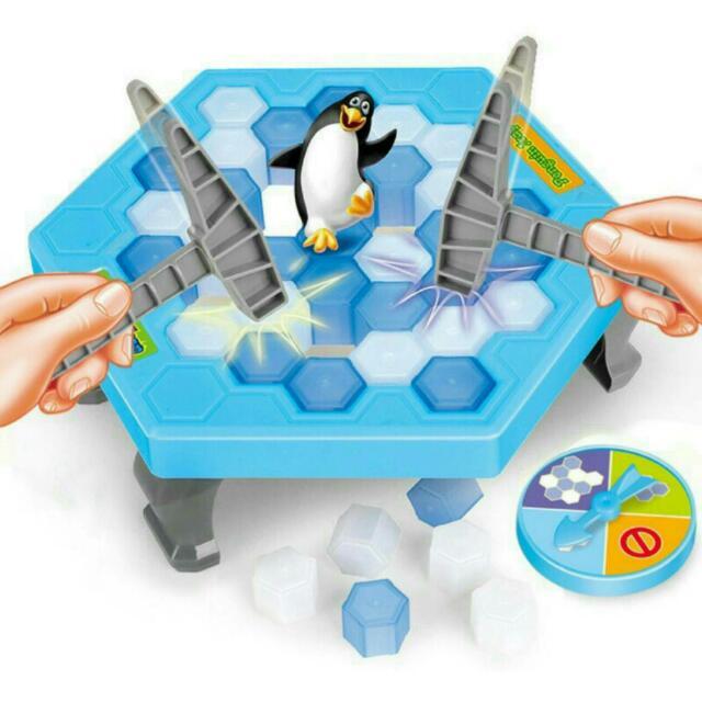 迷你版企鵝破冰