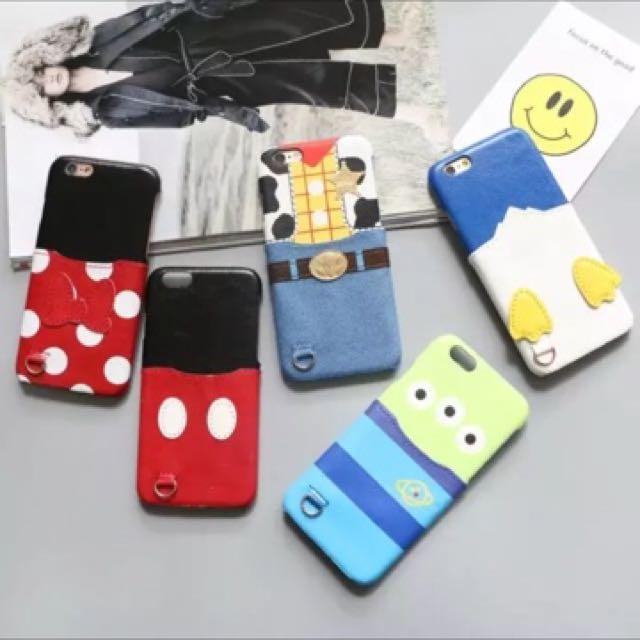 預購 米奇米妮口袋手機殼 蘋果i7保護套iphone6s外殼