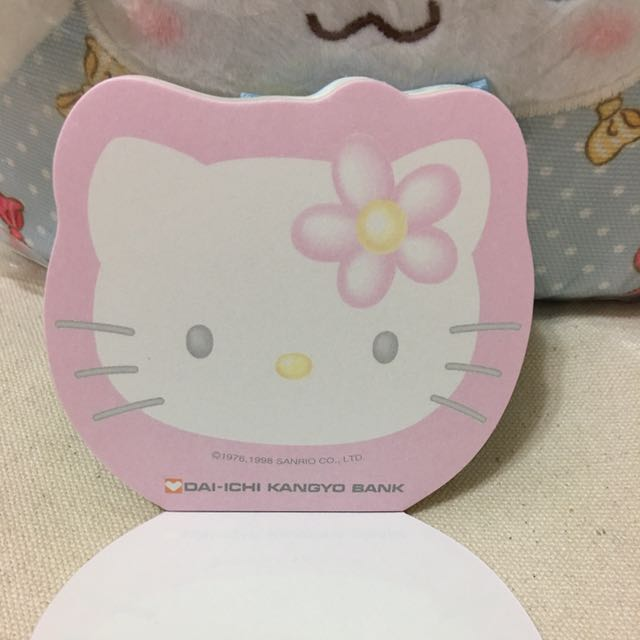 三麗鷗 Sanrio Kitty 便條紙