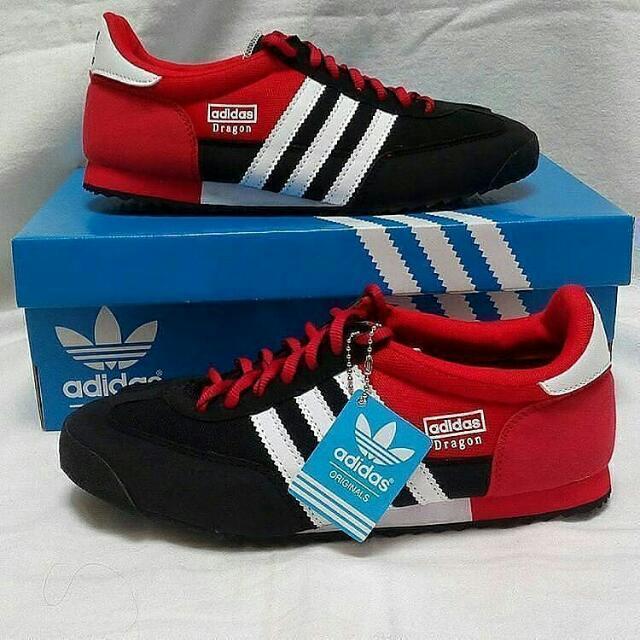 Adidas Dragon Black Red