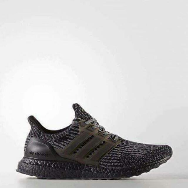 "Adidas UltraBoost ""Triple Black"" Caged"