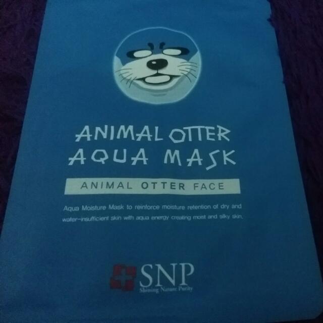 Animal Otter Aqua Mask