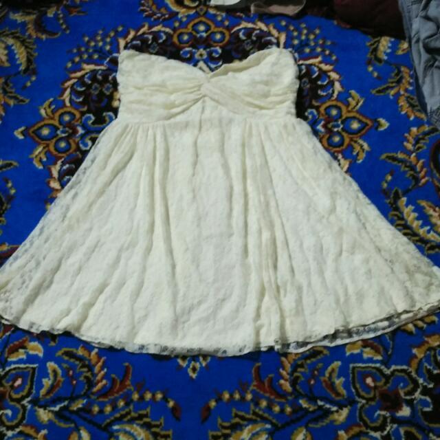 Asos Lace Tube Dress
