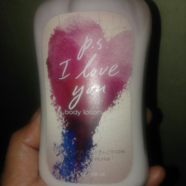 Auth Bath&Body Works Lotion From US