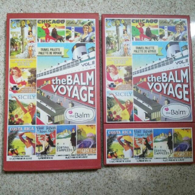 Authentic 100%  The Balm Voyage Vol II Limited Edition