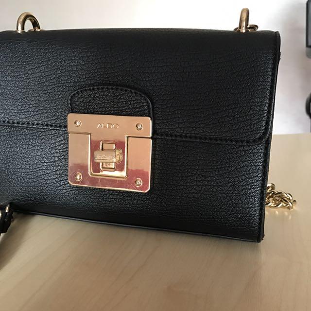 5728d7c762e Authentic ALDO Chain Sling Bag