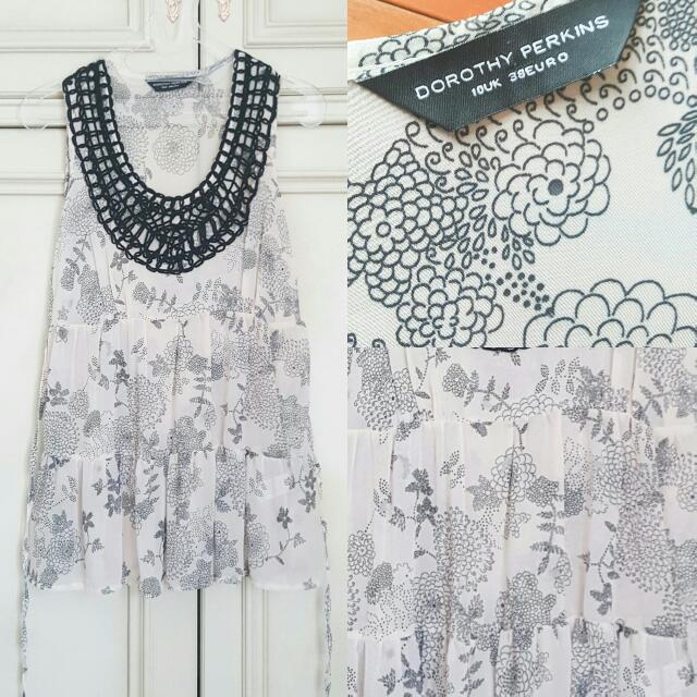 Authentic Dorothy Perkins Flower Top // Atasan Wanita
