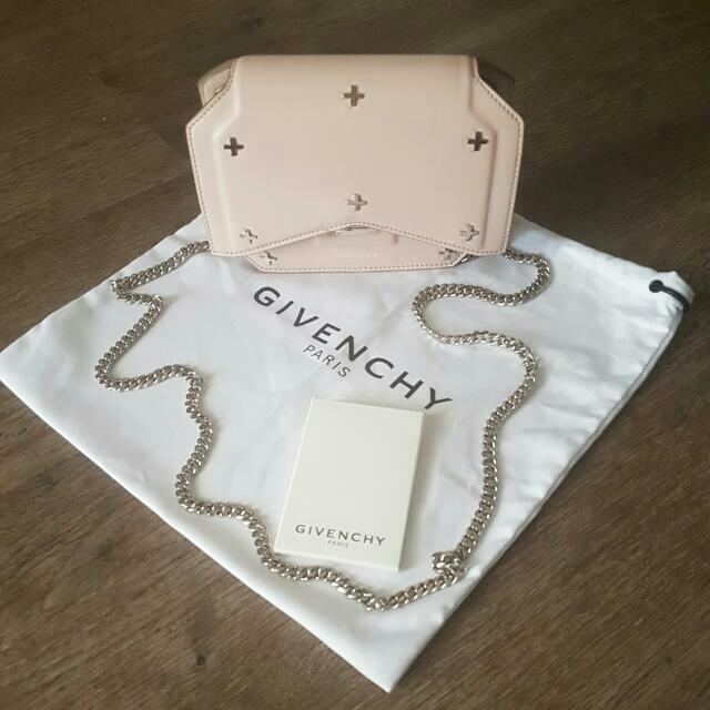 Authentic GIVENCHY Bow Cut Handbag