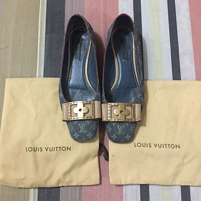 Authentic LV Flats