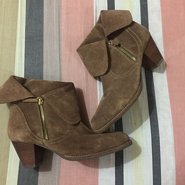 Belle Suede Ankle Boots