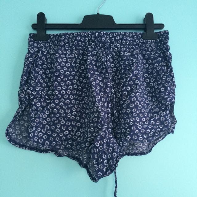 blue shorts - size small