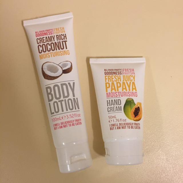 Body Lotion & Hand Cream