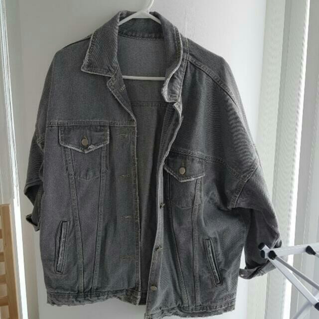 Boyfriend fit denim jacket  $10
