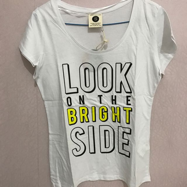 BRAND NEW WITH TAG COTTON ON SHIRT